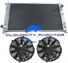 Aluminum Radiator For 1995-2002 Mazda Millenia Base L/S/Sedan 2.3L/2.5L V6 +FANS