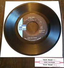 John Coltrane - Blue Train Pts. 1&2 45 Blue Note 1691 w/jukebox strip VG+