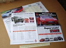 1994/95 Mitsubishi Car Catalogue 3000 GT, Shogun, Space Wagon, Galant, Sigma etc