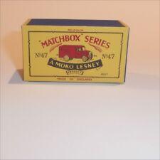Matchbox Lesney 47 a Trojan Van empty Repro B style Box