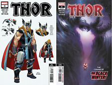 (2020) THOR #3 3rd Print & #4 2nd Print Variant Cover! Donny Cates! BLACK WINTER