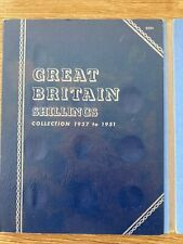 More details for 1937 to 1951 shillings whitman folder with 27 coins only 4 missing
