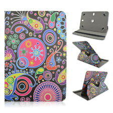 """For Kindle Fire HD 10"""" Tablet Psychedelic Paisley CASE FIT 9.5-10.1"""