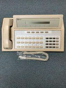 Refurbished Mitel SX 50 Telephone System Console 9104-060-001-NA Ash W/ Handset