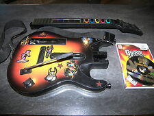 JEU WII GUITAR HERO WORLD TOUR + GUITAR CONTROLLER REDOCTANE ACTIVISION