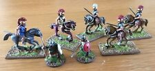 Citadel Empire Warriors Of Chaos Metal Miniatures Lot Of 7 Painted & Based