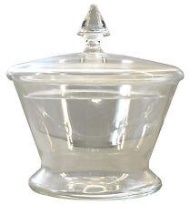Dose mit Deckel in Kristallglas - AE 853
