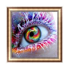 Large Eye DIY 5D Diamond Embroidery Painting Rhinestone Cross Stitch Home Decor
