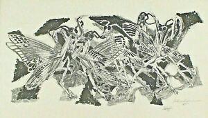 Eduard Hopf 1901 - 1973 - Insects Gottesanbeterinnen