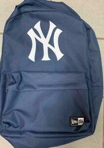 "New Era New York Yankees Blue Backpack 17"" x 14"" Season Ticket Holders BRAND NEW"