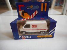 """Corgi Renault Traffic """"AVIS"""" in White in Box"""