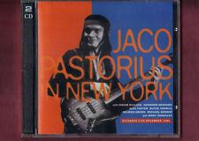 JACO PASTORIUS IN NEW YORK DOPPIO CD NUOVO SIGILLATO