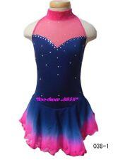 Gorgeous Figure Skating custom Ice Skating Dress K 038-1 size 14