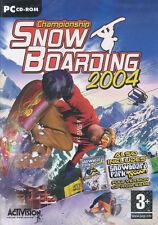 Championship SNOW BOARDING & Snowboard Park Tycoon BOX!