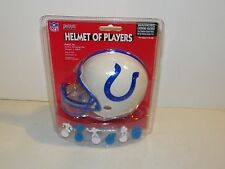 Riddell Football Helmet Of Mini Players Indianapolis Colts 12 Poses NEW Sealed