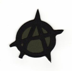 Tactical Military Army Badge Morale Patch Biker Motorcycle Anarchy Symbol Emblem