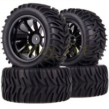 4x1/10 Monster Truck Bigfoot Wheel Rim & Tyre,Tires Fit Redcat HSP Traxxas 88072