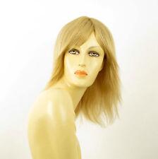 perruque femme 100% cheveux naturel longue blonde ref JULIE  22