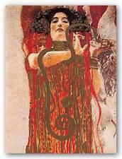 MUSEUM ART PRINT Hygieia Metallic Gustav Klimt