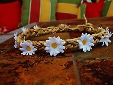 Flower Crown Boho Hippie Headband - Daisy