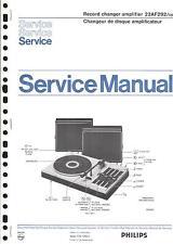 Philips Original Service Manual für 22 AF 292