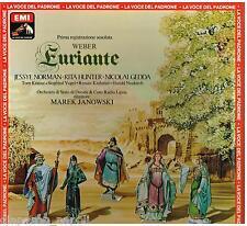 Weber: Euryanthe (Euriante) / Janowski, Norman, Hunter, Gedda, Krause - LP