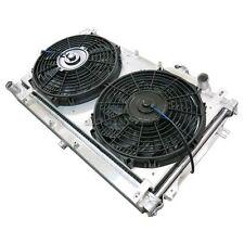 "CXRacing Aluminum Radiator + SHROUD + 12"" FAN For 90-97 Mazda Miata MT"