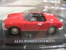 1/43 METAL ALFA ROMEO GIULIETTA Rouge!!!!!!