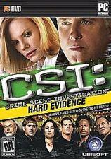 NEW CSI Crime Scene Investigation Hard Evidence  for Windows PC Factory Sealed