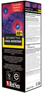 Red Sea Reef Energy Plus AB+ Coral Nutrition 250ml Marine Supplement Fast Delive