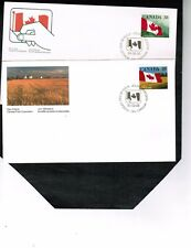 CANADA 1989-90 QUICK STICK self ad. Two  FDC MNH  # 1191-2  BOX 510