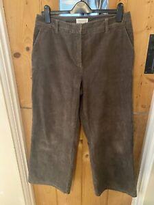 Toast Brown Jumbo Cords Corduroy Trousers Size 14