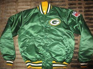 Green Bay Packers NFL Football Starter Jacket LG L mens