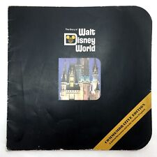 Story Of Walt Disney World Commemorative Edition 1971 Behind The Scenes Book