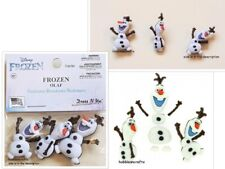 DISNEY DRESS IT UP BUTTONS  - FROZEN - OLAF  3 BUTTONS - POSTAGE DEAL
