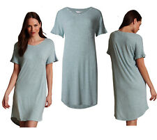 Marks   Spencer Womens Short Sleeve Nightdress New M S Nightshirt Nightie  ... 688da6729