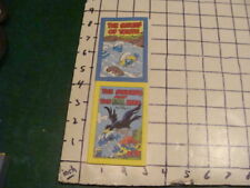 Vintage -- 1982 THE SMURF OF YOUTH & THE SMURFS & HTE EVIL BIRD little books