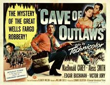16mm CAVE OF OUTLAWS-1951. LPP, low fade Feature Film.