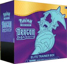 Pokemon Dragon Majesty Elite Trainer Box 10 Booster Packs Naganadel GX