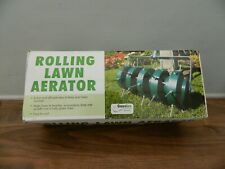 push along rolling lawn aerator new and boxed