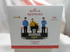 2016 Hallmark To Boldly Go Star Trek Magic Tabletop  50th Anniversary