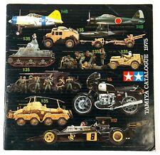 Vintage Tamiya 1975 Plástico Modelo Catálogo O533