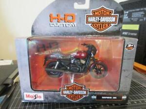 2015 Harley-Davidson Street 750 - Maisto 31360 1:18 Scale Diecast Motorcycle