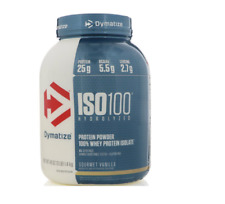 NEW DYMATIZE NUTRITION ISO100 100% WHEY PROTEIN ISOLATE SUPPLEMENT 48 oz 1.4 kg