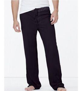 James Perse Men's NWOT Black Full Length Jersey Pajama Pants Style# MXLJ1166