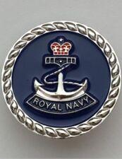 Royal Navy ( RN-B) Colours Lapel Badge 30mm