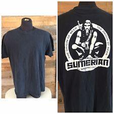 "Sumerian Brewing Company Woodinville Wa Men's T-shirt ""The Origin Of Beer"" Xl"