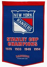 NHL New York Rangers Stanley Cup Wimpel Pennant Wool Blend Banner 95x60cm