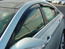 Tape-On Wind Deflectors for a 2011-2014 Hyundai Sonata