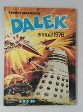 More details for vintage dalek annual 1976. nice condition. unclipped  copy. no fading.